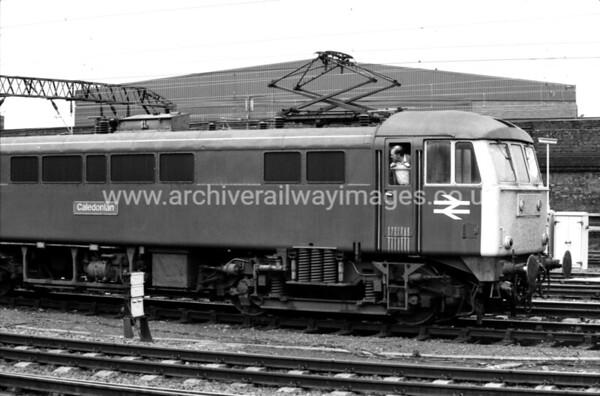 86224 Caledonian 12/6/84 Crewe Withdrawn 07/02 LGCut-Up 05/06 Ron Hull Jr Rotherham