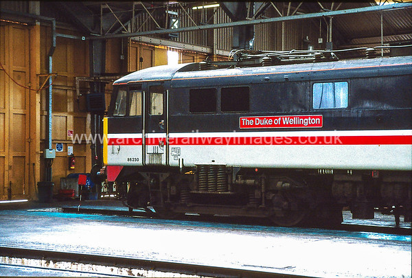 86230 Duke Of Wellington 16/4/92 Willesden Inter-City Depot Withdrawn 10/04 NC 	Cut-Up 07/11 EMR Kingsbury