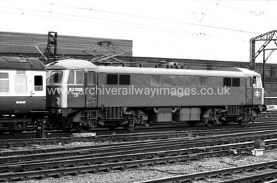 87002 Sovereign 12/6/84 Crewe
