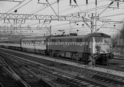 87030 Black Douglas 28/3/87 Crewe Withdrawn 03/05 WN Cut-Up 07/11 EMR Kingsbury