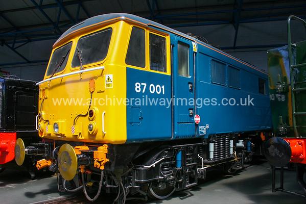 87001 Stephenson 25/5/09 National Railway Museum