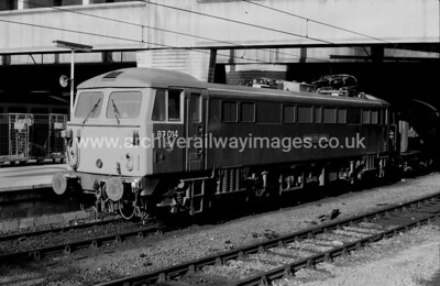 87014 Knight of the Thistle  18/6/83 Birmingham New Street Withdrawn 08/05 WB    Exported 11/09 Bulgaria