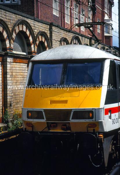 90001 BBC Midlands Today 9/6/91 Preston
