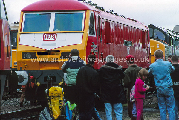 90129 Frachtverbindungen  6/9/92 Leicester Depot