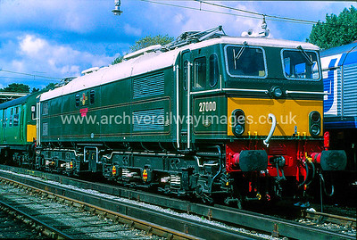 27000 Electra 12/9/92 Bournemouth Depot