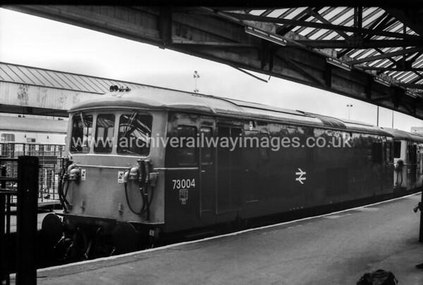 73004 20/4/81 Waterloo Withdrawn 09/91 SL Cut-Up 02/04 by HNRC at EMR Kingsbury