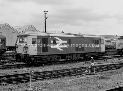 73005 8/7/86 Eastleigh