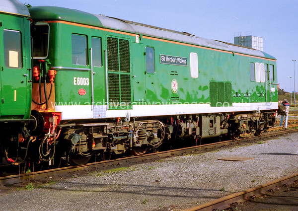 73003 Sir Herbert Walker 19/3/94 Old Oak Common Depot Withdrawn 09/96 SLNow Preserved / Private Owner as at 27/3/17