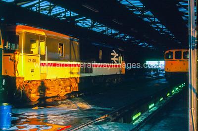 73120 31/7/87 Eastleigh Depot