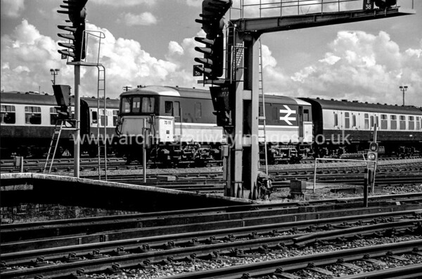 73111 16/7/87 Eastleigh Withdrawn 05/91 SLCut-Up 01/97 by RJ Phillips at Stewarts Lane Depot