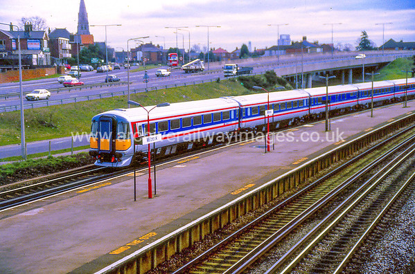 Class 442 18/2/88 Millbrook Southampton. New stock on a test run