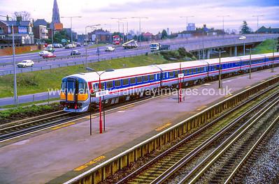 Class 442 18/2/88 Millbrook Southampton. New stock on a test run