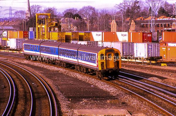 3046 18/2/88 Millbrook ex.11.12 Bournemouth-Waterloo