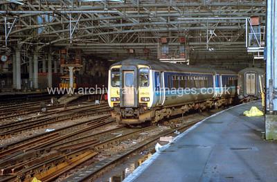 156349 18/1/93 Glasgow Central