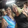 Beth and Dianne feeling no pain at Thelmas