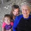 Beth Lowd with granddaughters