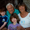 With great-grandkids.