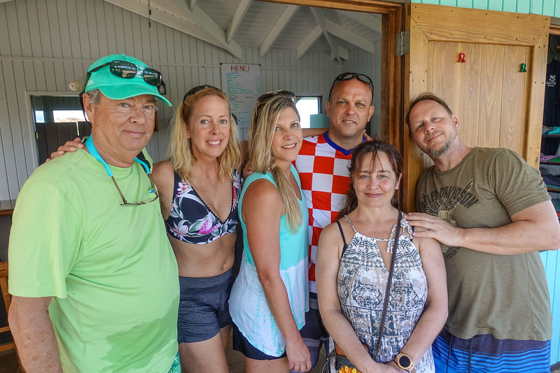 Holley and Ron celebrating their 10th Anniversary with family and friends here at the Mad Dog ... Ron, Holley, Dianne, Dan, Lisa and Barry