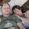 Barry and Lisa in Mad Dog hammock