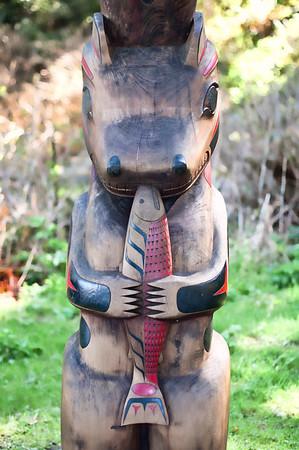 Hungry Bear Totem