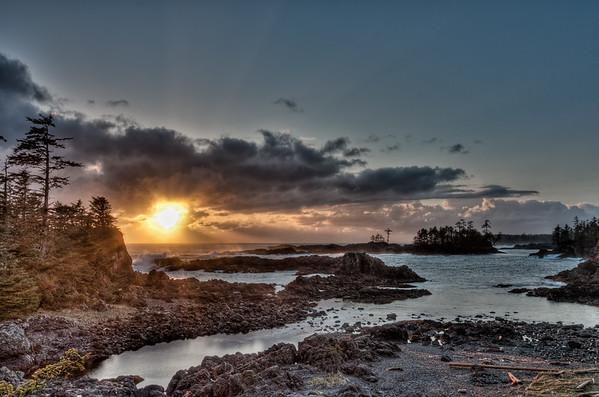 Wild Pacific Sunset