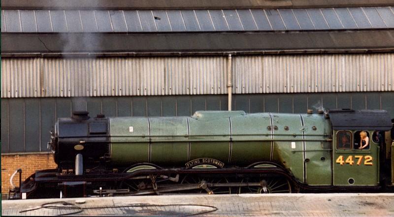 4472 Flying Scotsman, Marylebone, mid 1980s.