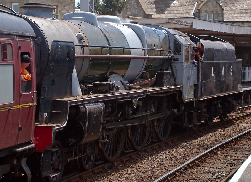 46115 Scots Guardsman, Carnforth, 20 June 2008 2 - 1342