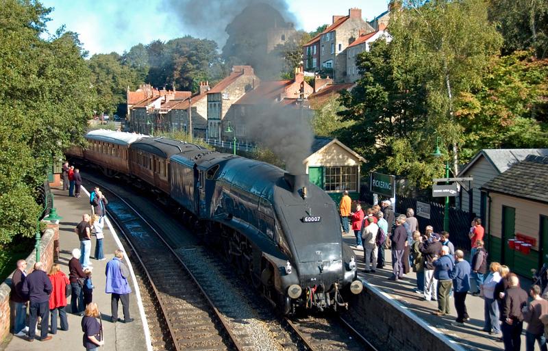 60007 Sir Nigel Gresley, Pickering, 20 September 2007.