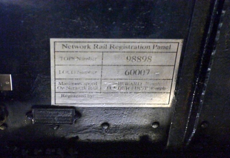 60007 Sir Nigel Gresley, National Railway Museum, York, 5 July 2013 4