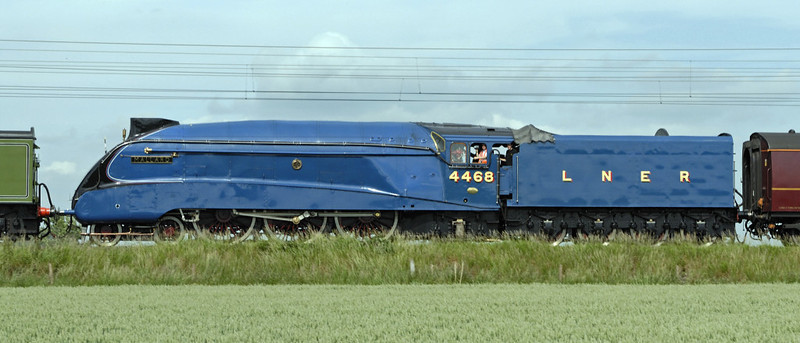 60163 Tornado, 4468 Mallard & 47798 Prince William, 5Z48, East Cowton, Wed 23 June 2010 - 1627 4
