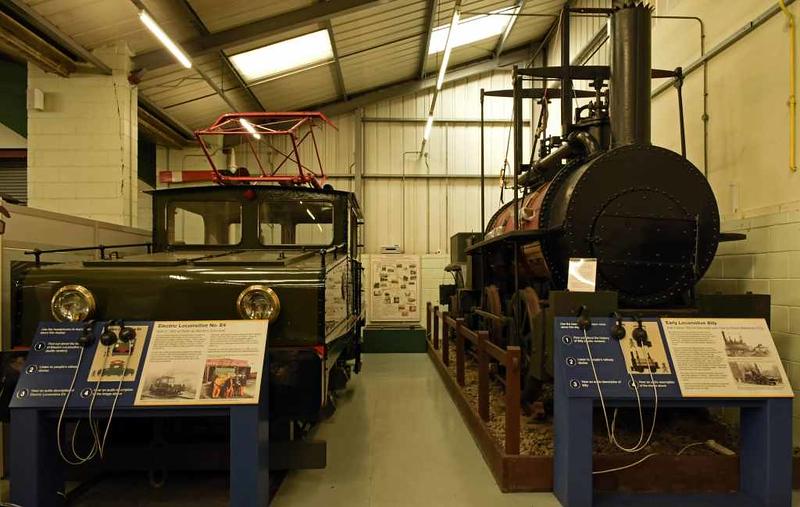 Harton colliery railway E4 & 'Billy', Stephenson Railway Museum, North Shields, Sun 24 September 2017.