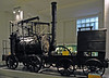 Puffing Billy, Science Museum, South Kensington, London, 28 January 2005.  The oldest loco in the world!  Puffing Billy was built in 1814 by William Hedley to haul coal on the horse tramway from Wylam to the river Tyne at Lemington, west of Newcastle.