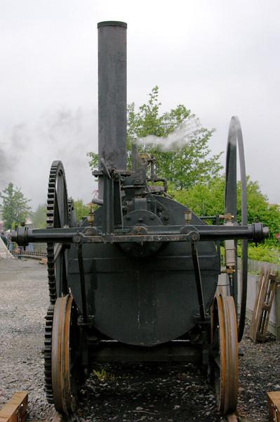 Replica of Pen-y-Darren locomotive, National Railway Museum Railfest, York, 28  May 2004 3