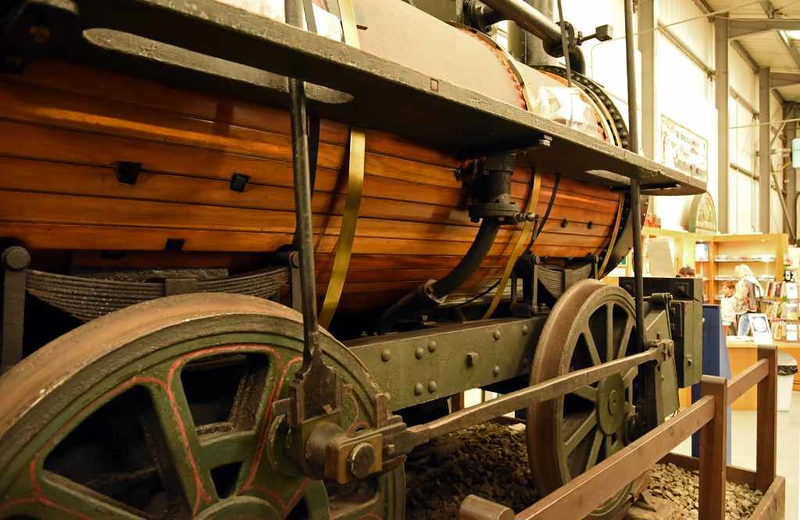 'Billy', Stephenson Railway Museum, North Shields, Sun 24 September 2017 4.