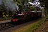 Furness Rly No 20, Newby Bridge, Tues 23 August 2005.  Setting back after a run past to continue to Lakeside.