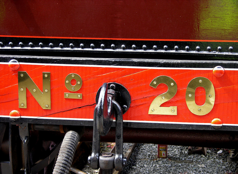 Furness Rly No 20, National Railway Museum, York, 28 May 2004 4.