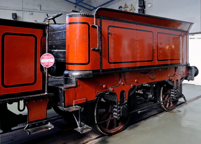 Furness Rly 0-4-0 No 3 ('Copperknob'), National Railway Museum, York, Sat 8 September 2012 2.