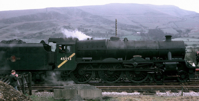 45593 Kolhapur, 1X50, Chinley, 22 April 1967 1.