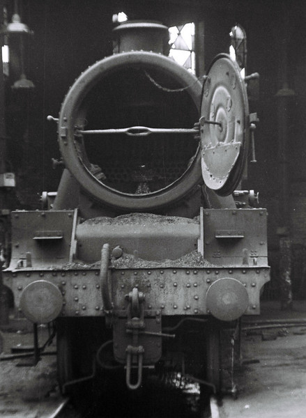 45697 Achilles, Holbeck shed, 13 May 1967.  45697 was withdrawn in September 1967.
