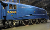 LNER A4 4-6-2 4468 Mallard, National Railway Museum, York, Sat 22 December 2012 1