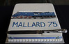 Mallard 75 cake, National Railway Museum, York, 5 July 2013.  And finally, a cake commissioned by the NRM Friends.