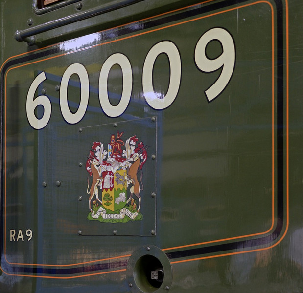 60009 Union of South Africa, National Railway Museum, York, 5 July 2013 1