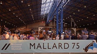 Mallard 75, National Railway Museum, York, 2013