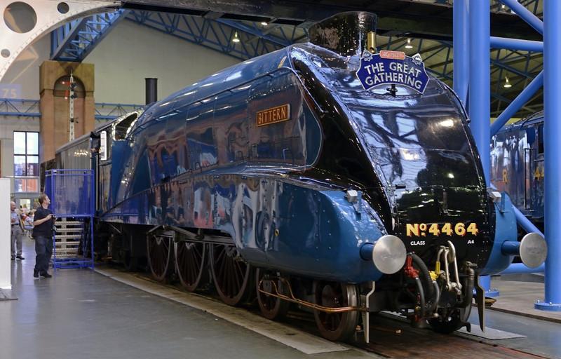 4464 Bittern, National Railway Museum, York, 5 July 2013 2