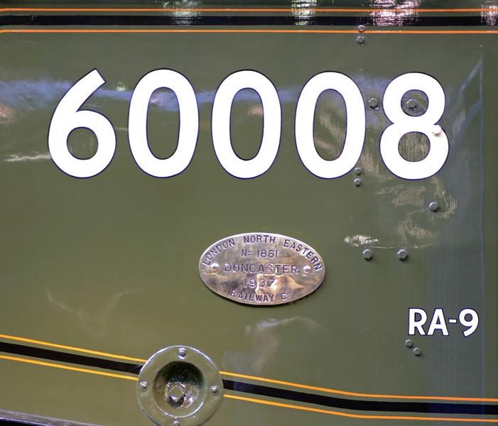 60008 Dwight D Eisnhower, National Railway Museum, York, 5 July 2013 1