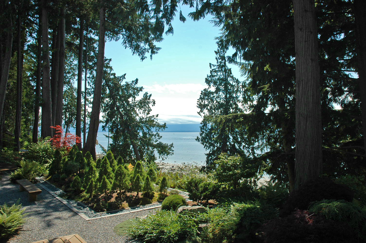 View toward Vancouver Island.