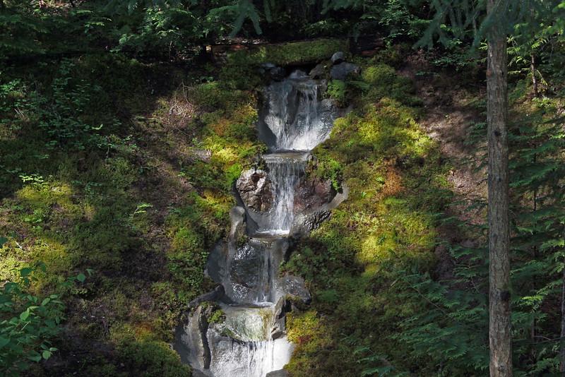 Buchart Gardens Waterfall