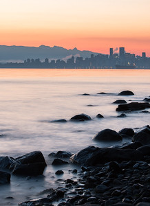 Beautiful Sunrise in Vancouver, BC.