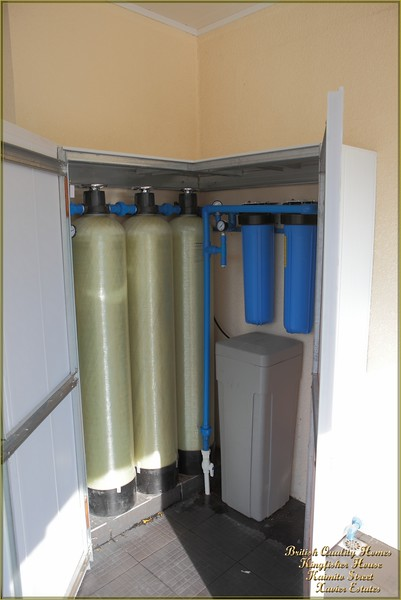 Whole House Water Filtration and Softening System