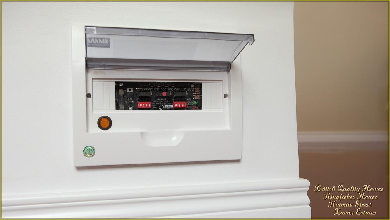 Main Stair LED Lighting Controller Panel